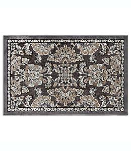 Tapete con diseño floral, Home Dynamix 68.58 cm x 1.09 m en gris