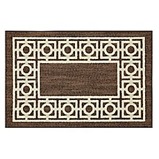 image of Mohawk Home Signature Davidson 30-Inch x 46-Inch Accent Rug in Brown