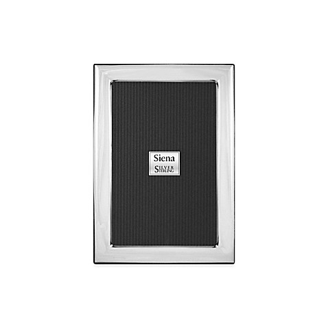 Siena Deco Plain Sterling Silver Picture Frame Bed Bath