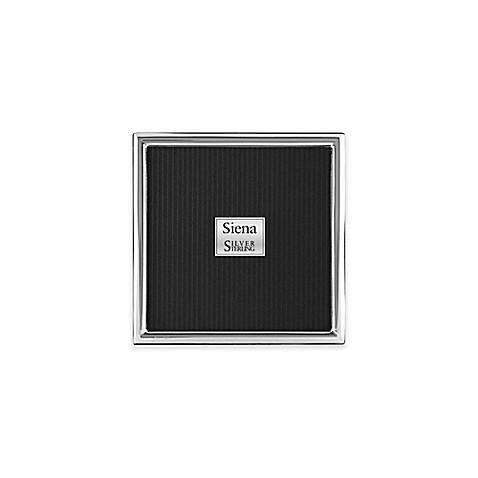 Siena Slim Plain Sterling Silver Picture Frame Bed Bath