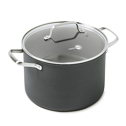 Buy Greenpan Chatham 8 Qt Covered Saucepan From Bed Bath