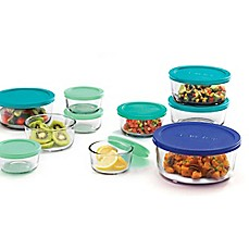 image of Anchor Hocking 24-Piece Glass Food Container Set