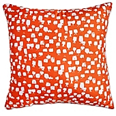 image of Scribble Paint Brush Square Throw Pillow