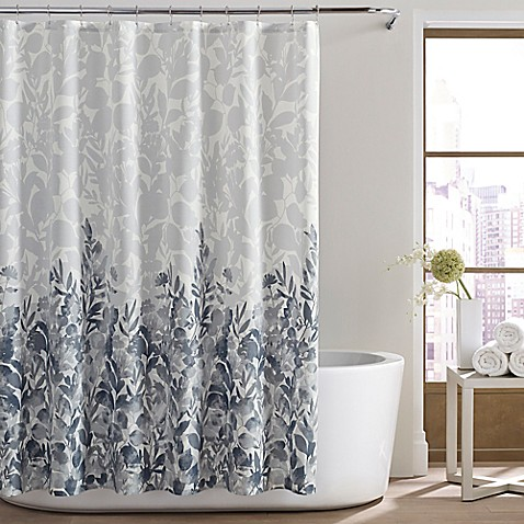 City Loft Lorelei Shower Curtain In Light Grey Bed Bath Beyond