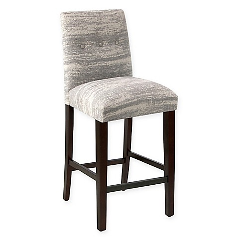 Furniture Harlow Stool With Buttons In Zara Feather This Harlow