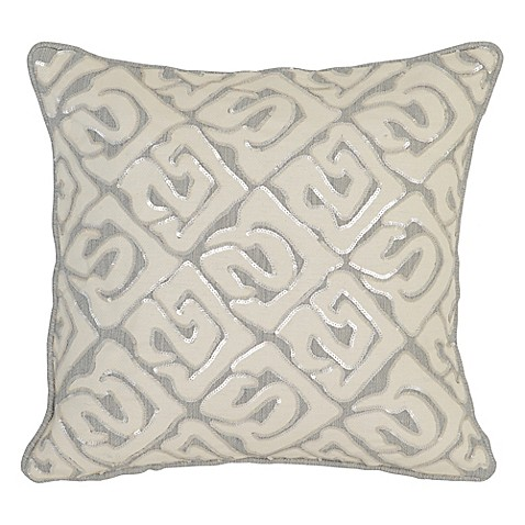 Villa Home Decorative Pillows : Villa Home Ellwood Square Throw Pillow - Bed Bath & Beyond