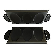 image of George Foreman® Evolve Grill Omelet & Snack Plates (Set of 2)