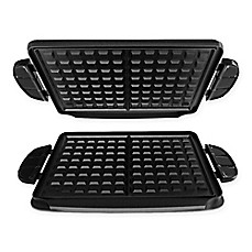 image of George Foreman® Evolve Grill Waffle Plates (Set of 2)