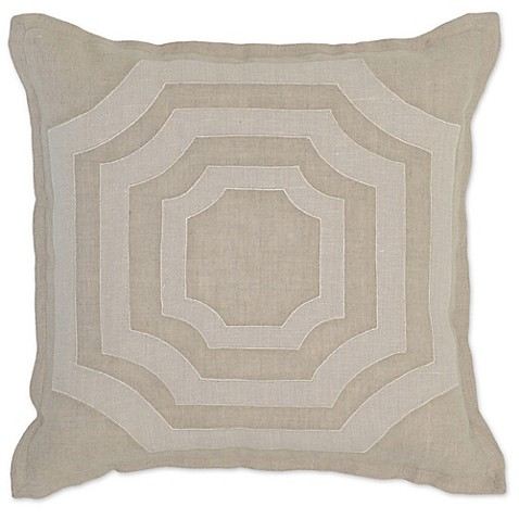 Villa Home Decorative Pillows : Villa Home Miller 18-Inch Square Throw Pillow - Bed Bath & Beyond