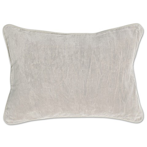 Villa Home Decorative Pillows : Villa Home Velvet Heirloom Oblong Throw Pillow - Bed Bath & Beyond