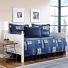 image of Eddie Bauer® Eastmont Daybed Quilt Set in Navy