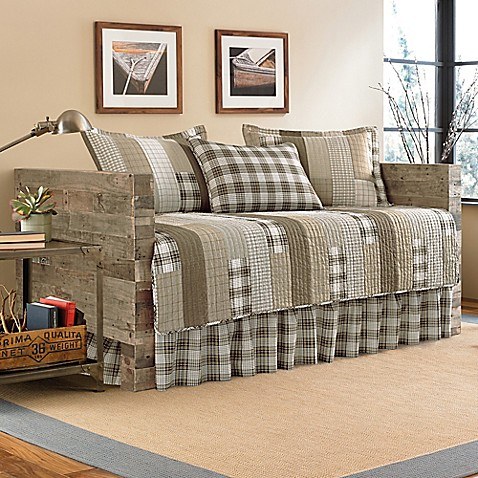 Eddie bauer fairview daybed quilt set bed bath beyond - Daybed for small spaces set ...