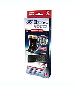 Calcetines 35º Below®, talla grande en negro