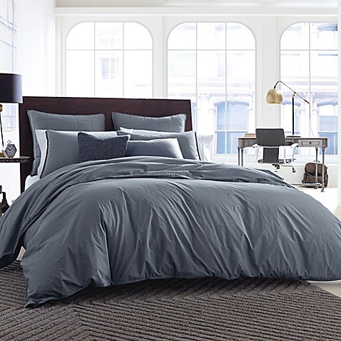 Buy Kenneth Cole New York Escape Twin Duvet Cover In Slate