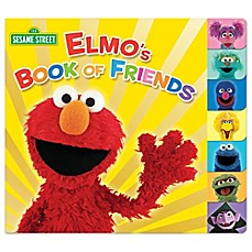 image of Elmo's Book of Friends by Naomi Kleinberg