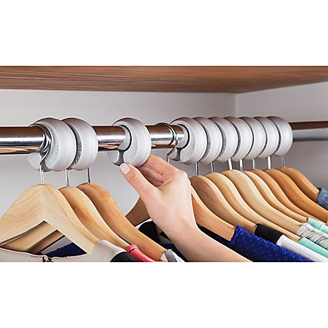 10-pack Xangar Clothes Hanger Spacers/Organizer System