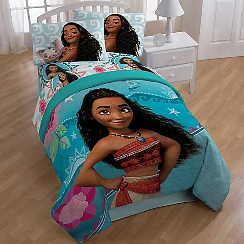image of Disney  Moana Twin Full Comforter. Kids   Teen Bedding   Comforter Sets  Sheets  Bedding Sets For