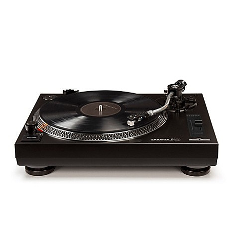 turntable in black the crosley c200a bk direct drive turntable will