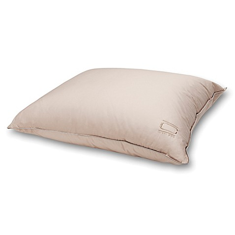 nikki chu isra white down pillow in soft clay bed bath beyond. Black Bedroom Furniture Sets. Home Design Ideas