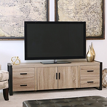 Image Of Walker Edison 70 Inch Wood Tv Console