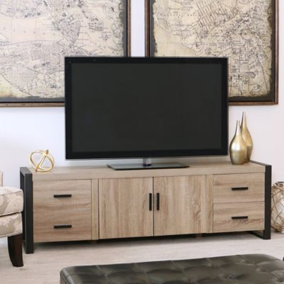 tv stands entertainment centers forest gate 70 inch wood tv console - Tv Stands Entertainment Centers