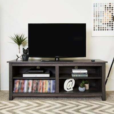 forest gate 58 wood media tv stand console - Entertainment Centres And Tv Stands