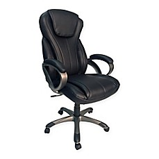Z Line Designs Oversize Executive Chair In Black
