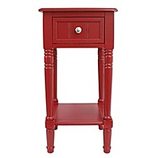 Decor Therapy Simplify 1 Drawer Square Accent Table
