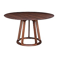 image of Moe's Home Collection Aldo Round Dining Table in Walnut