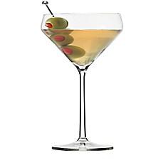 image of schott zwiesel tritan pure martini glasses set of 6 - Stemless Martini Glasses
