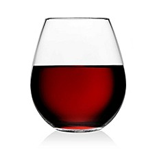 image of Olivia & Oliver Madison Stemless Wine Glasses (Set of 4)