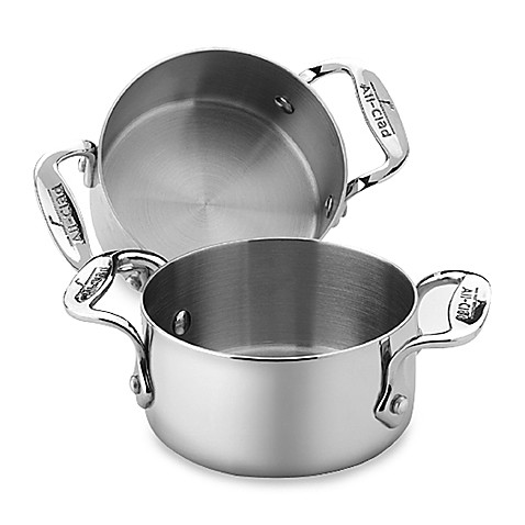 allclad stainless steel soup and souffle ramekins set of 2
