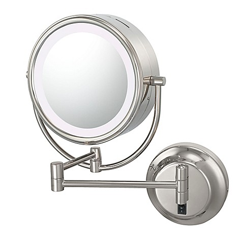 Kimball Amp Young Neo Modern 1x 5x Led Makeup Mirror In