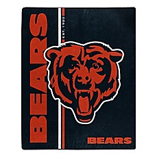 NFL Chicago Bears Royal Plush Raschel Throw