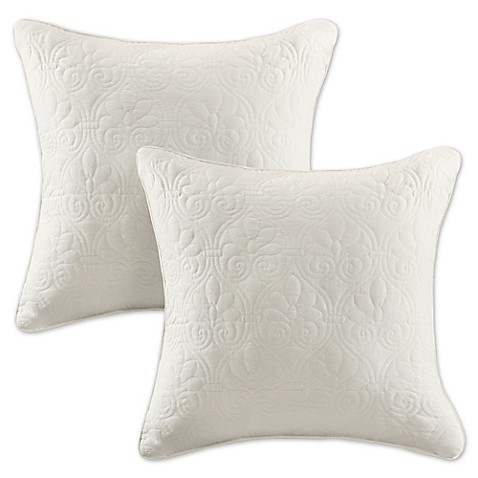 Madison Park Quebec 20-Inch Square Throw Pillows (Set of 2) - Bed Bath & Beyond
