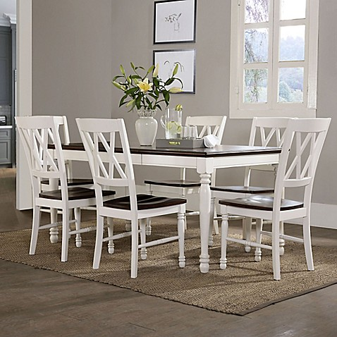 Awesome Crosley Furniture Shelby Dining Collection In White