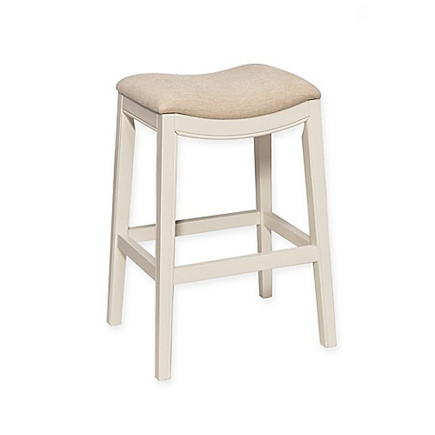 Buy Kenton 26 Inch Backless Counter Stool In White From