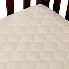 image of TL Care® Waterproof Crib Fitted Mattress Cover Made with Organic Cotton in Natural