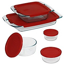 image of Pyrex® 10-Piece Glass Bake and Store Set