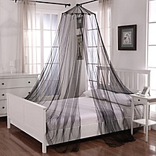 image of Oasis Round Hoop Sheer Bed Canopy & Bed Canopies u0026 Mosquito Nets - Bed Bath u0026 Beyond