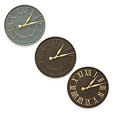 image of Whitehall Products 16-Inch Geneva Indoor/Outdoor Wall Clock