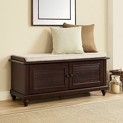 Crosley Furniture Palmetto Bench Bed Bath Beyond