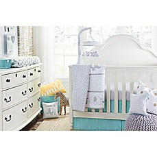 image of Wendy Bellissimo™ Unisex Mix & Match Crib Bedding Collection in Grey/Yellow