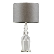 image of Madison Park Signature® Radiant Table Lamp in Ivory