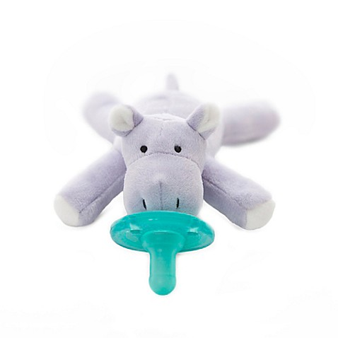 WubbaNub™ Hippo Infant Pacifier in Lavender