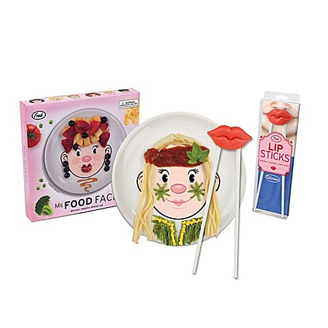 Fred \u0026 Friends\u0026reg; Ms. Food Face Dinner Plate and Chopsticks  sc 1 st  buybuy BABY : food face dinner plate - pezcame.com