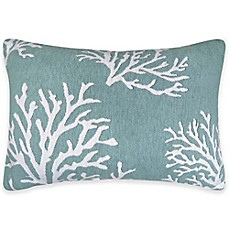 image of the vintage house by park b smith coral oblong throw pillow