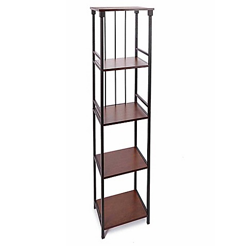 silverwood 5 tier bathroom floor shelf bed bath beyond
