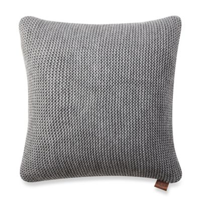 image of UGG® Pebble Knit Square Throw Pillow