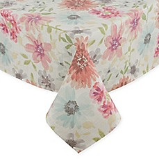 image of Colette Floral Tablecloth in Pastel